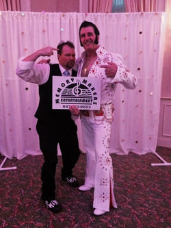 Dave Woll and Elvis