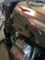 Rodsmith Gas Tank Moto guzzii