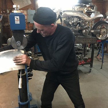 Harley Davidson Ducati Rodsmith Custom Progress
