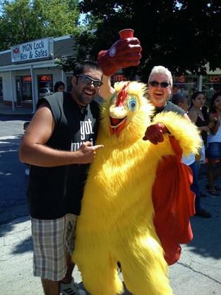 DJ Chicken Man?