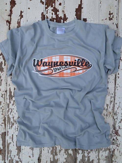 Waynesville Spiritwear Plaid Design