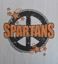 waynesville-Spartans-Peace-Logo-t-shirt-design