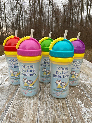 Playtex Sippy Cups w/Coloring Insert