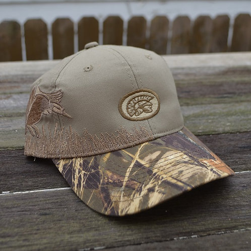 Waynesville Spirit Camouflage Hat with Embroidery