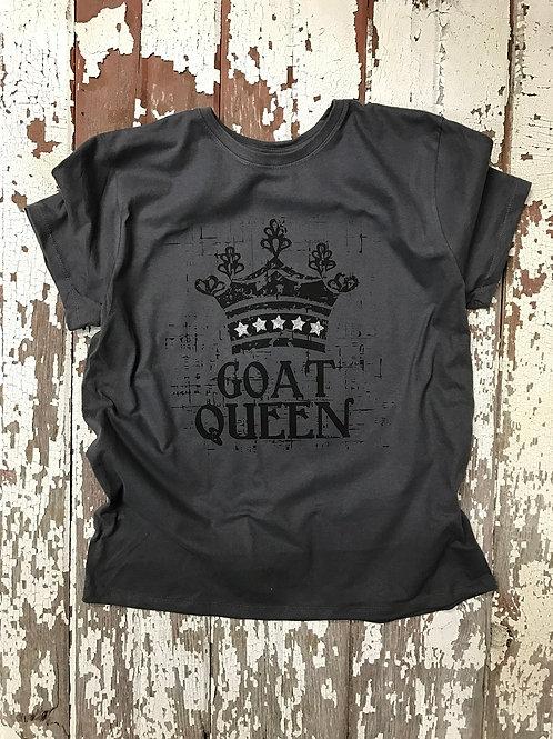 Bling GOAT Queen Fun Design Tees & Hoodies