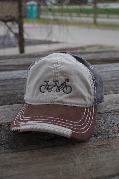 Tandem - Bike Hat Embroidery