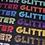 "Thumbnail: Stahl's Glitter Flake HTV Sheets 1/2 Yard 12""x18"""