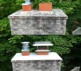 Before and After Crown Seal