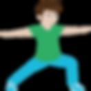 POP KINDER YOGA Wiesbade. Yoga für Kinder mit YogaHeld Alex.