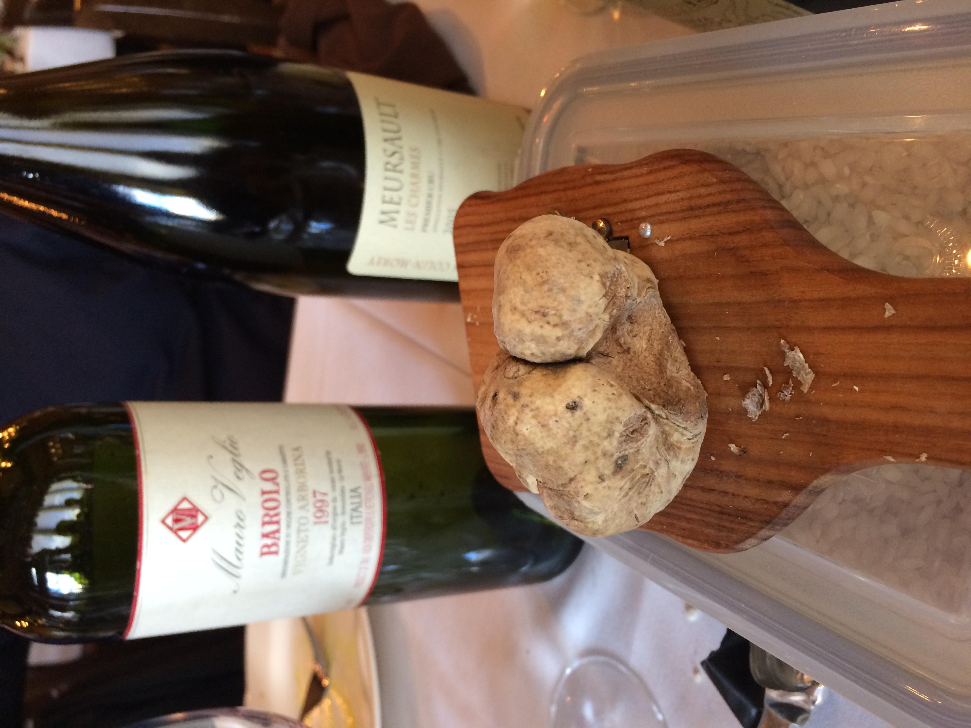 Truffles & Wine!