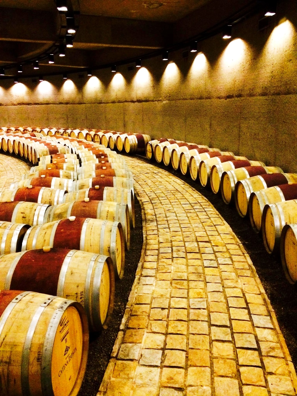 Wine maturation...