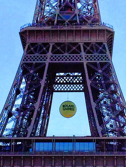 Eiffel Tower French Open Ball