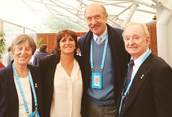 Sophie, F. Durr,S. Smith & R. Laver