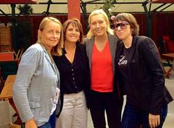 ith Demongeot, Navratilova & Zvereva