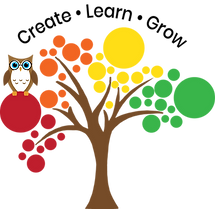 Lg. Create Learn Grow with Owl.png