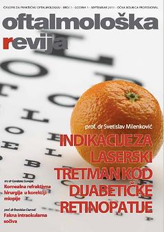 Oftalmoloska revija, ocna bolnica profesional