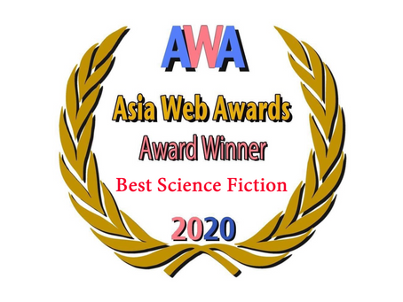 Talisman Wins Best Science Fiction at the Asia Web Awards