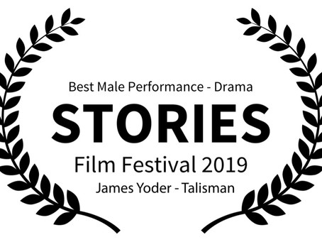 Talisman's James Yoder Snags Top Acting Honor in Manhattan