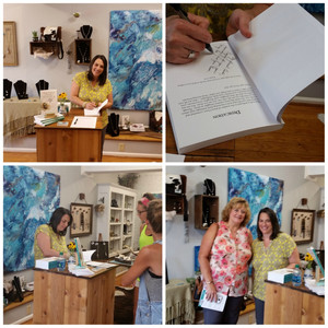 Book Signing event at the Kindred Spirits store downtown Spartanburg SC
