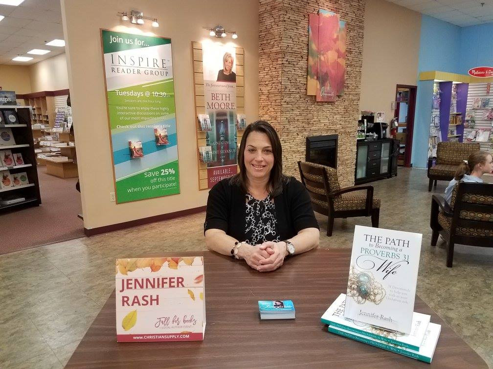Fall Book Signing event at Christian Supply in Spartanburg, SC