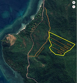 8,2 Ha Great Ocean View & Sunset near Kokotuku Resort