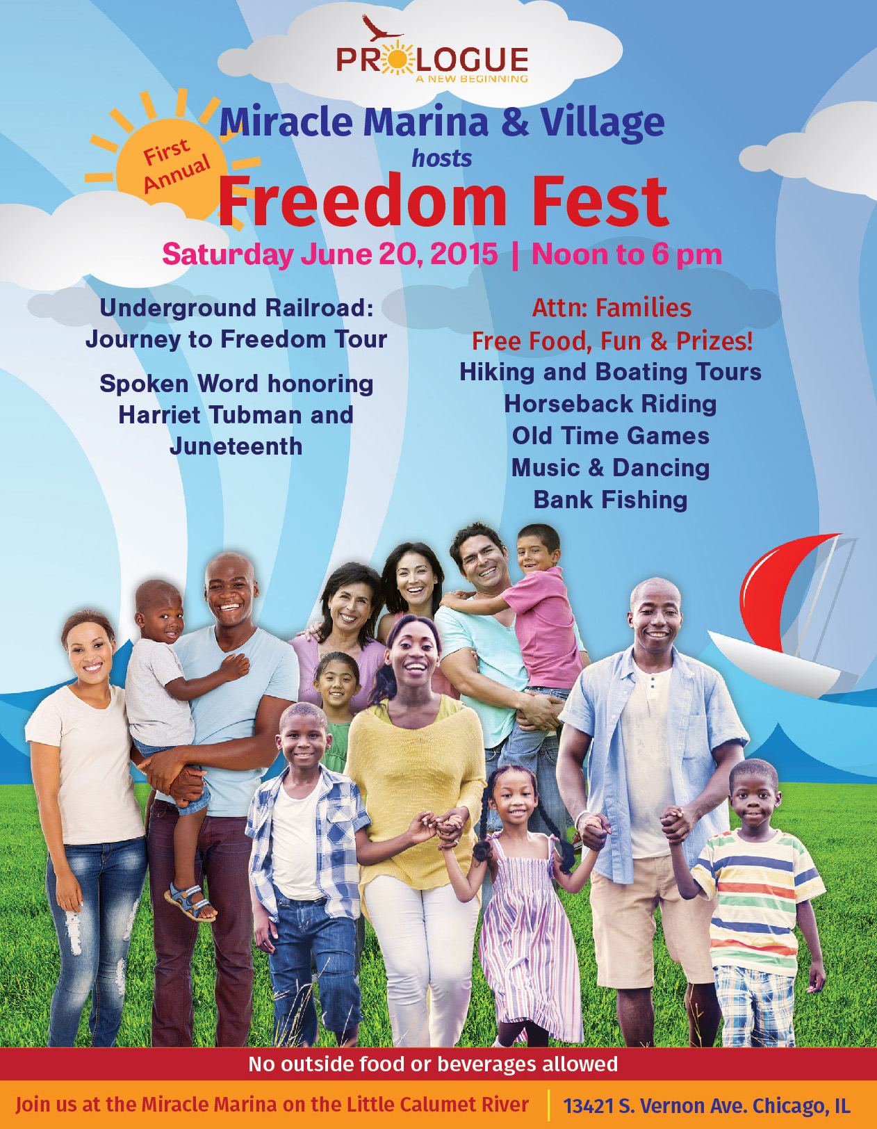 Freedom Fest Poster and Flyer