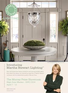 Martha Stewart Lighting print ad