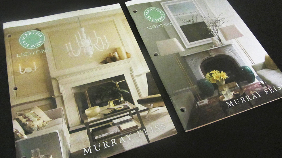 Martha Stewart Lighting catalogues