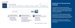 OneAmerica IT Service Portal Redesig