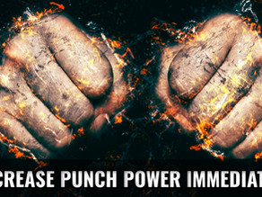 4 Quick And Easy Ways To Increase Punch Power IMMEDIATELY (Without using ANY equipment)