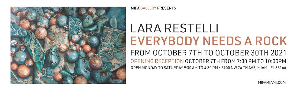 Lara Restelli art exhibition miami