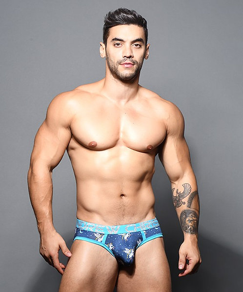 Flying Unicorn Brief w/ Almost Naked