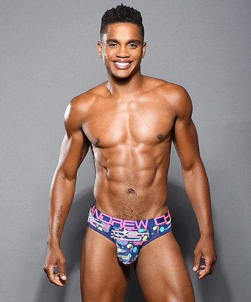 Funky Retro Brief w/ Almost Naked