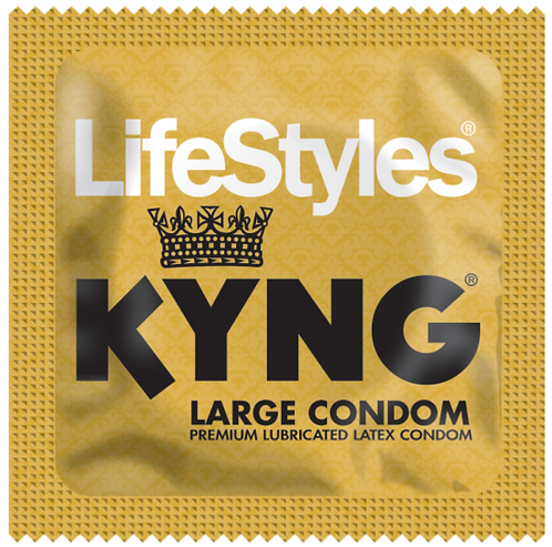 Condón Kyng LifeStyles