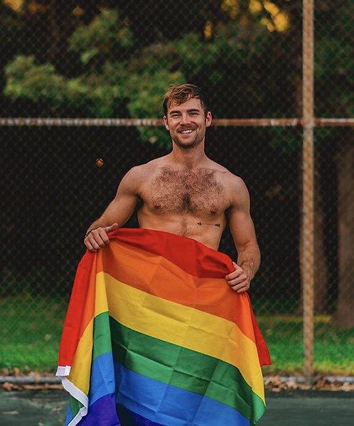 Bandera Pride Gde. 90 x 150 cm