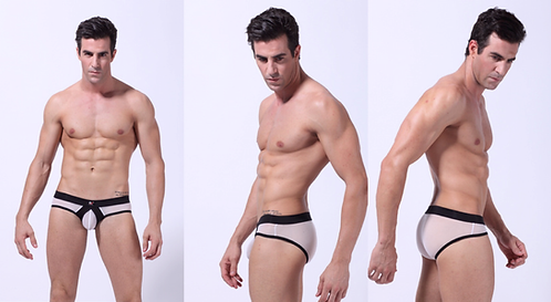 BRIEFS WJ BLANCO NEGRO