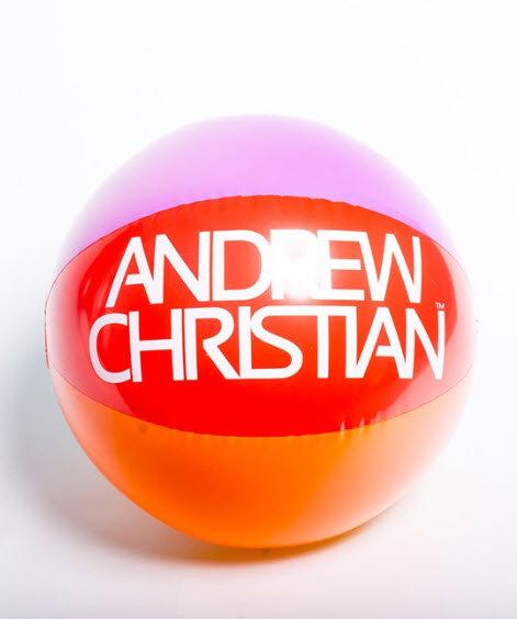 "Andrew Christian 24"" Pride Beach Ball"