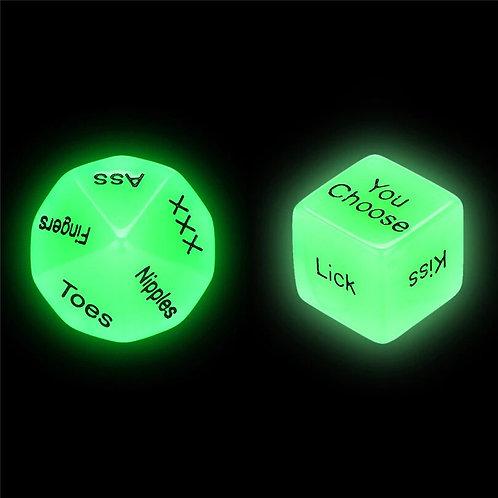 SEXY DADOS Fosforescentes