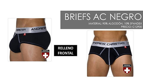 BRIEFS AC RELLENO FRONTAL