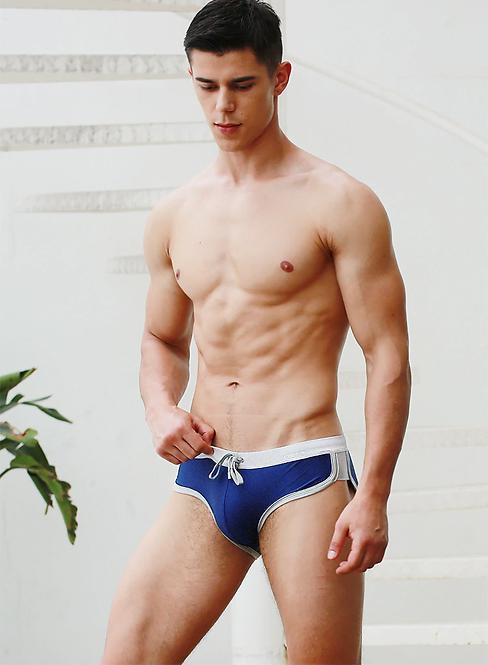 Bañador Sports Briefs Azul