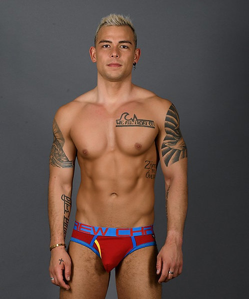 Fly Tagless Brief Red