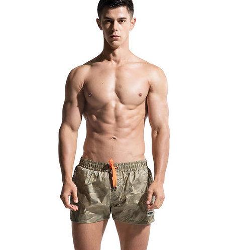 Pantaloneta Verde Camuflado Sutil Desmiit