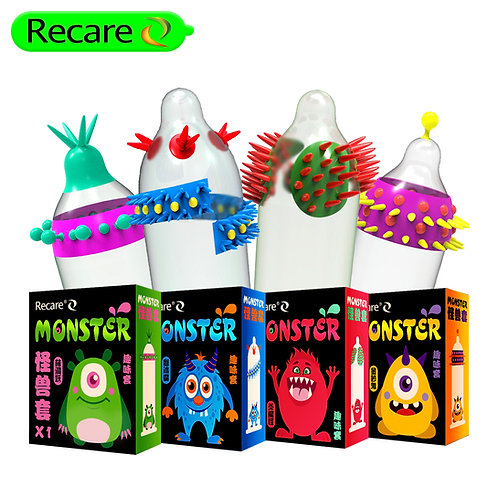 CONDÓN DE FANTASIA MONSTER  RECARE