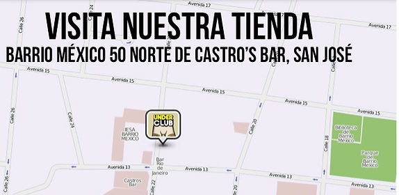 Mapa de Tienda Under Club
