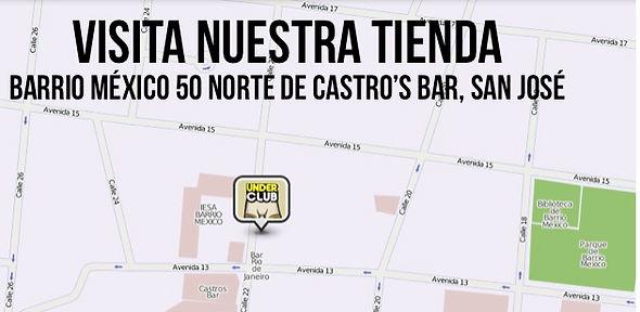 Mapa de Under Club San José