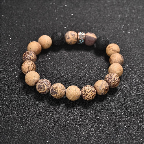 Brazalete Yoga Wood