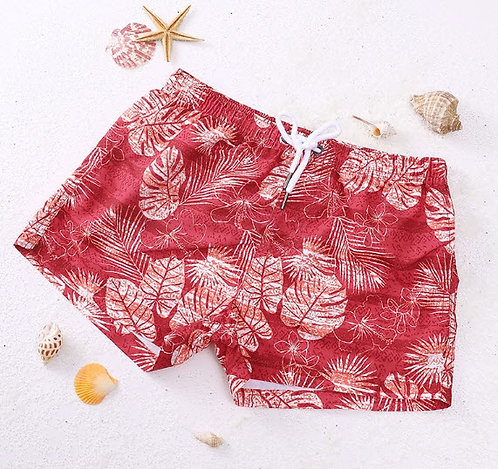 Pantaloneta Seobean Paraiso Rojo