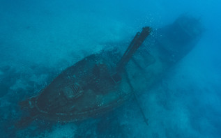 The Bedgellet, one of the many wrecks you can dive in Saint Helena.