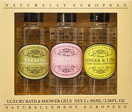 Naturellement Europeen - Luxury Bath & Shower gel