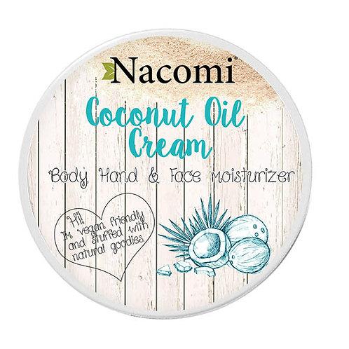 Coconut Oil Cream - Body, Hand & Face Moisturiser